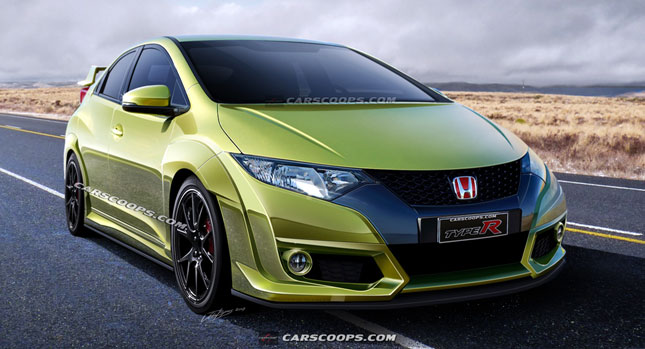 2015 honda civic type r with close to 300hp. Black Bedroom Furniture Sets. Home Design Ideas
