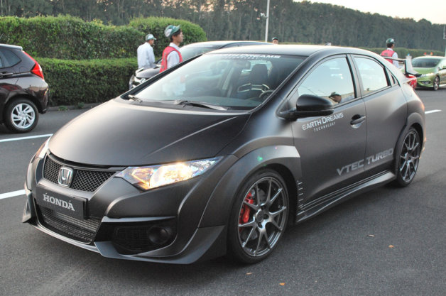 2015 honda civic type r prototype. Black Bedroom Furniture Sets. Home Design Ideas