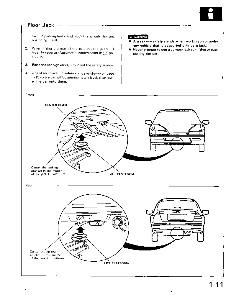 Honda Accord Coupe 1994 -1997 Shop Manual ...