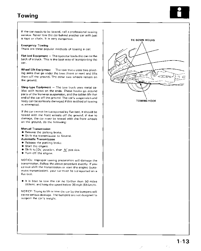 ... Honda Accord Coupe 1994 -1997 Shop Manual ...
