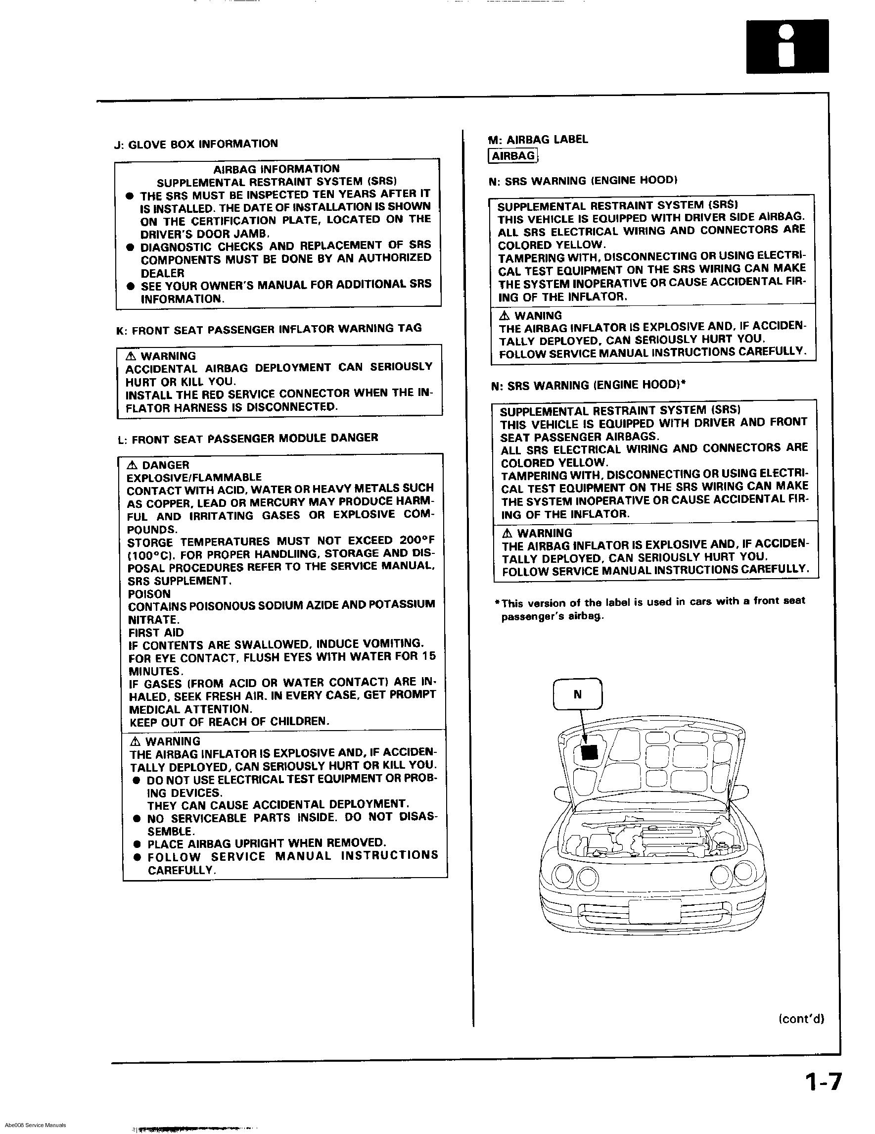 acura integra 1994 2000 service manual s hondahookup