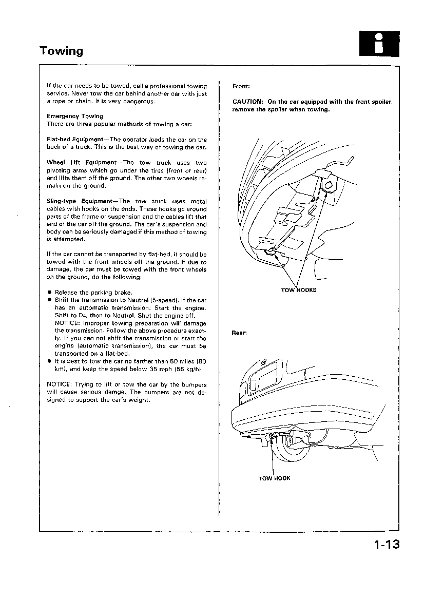 Honda Civic Service Manual 1992 1995 Downloads Electrical Troubleshooting Original