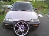 89 civic slamed next 2 18's