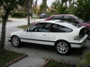 my 88 CRX by rowin305