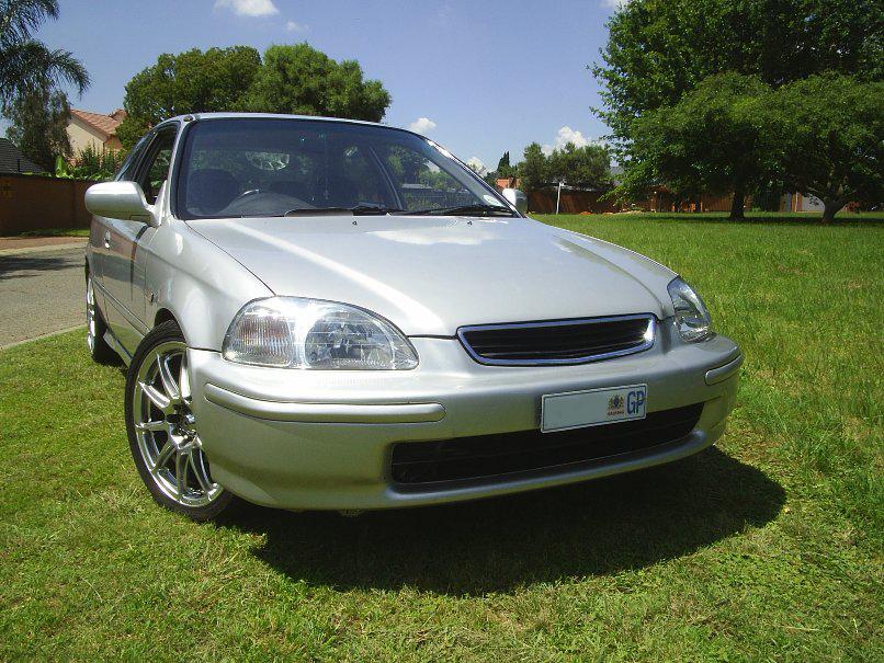 Silver Civic