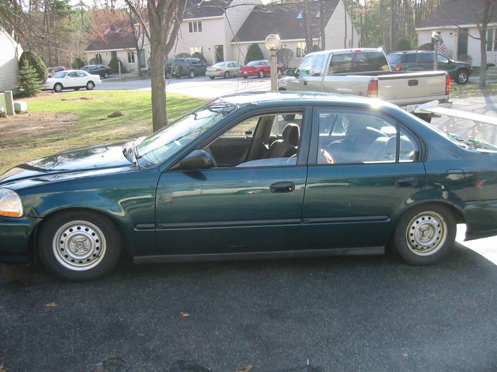 1996 Civic DX ....def need some more work