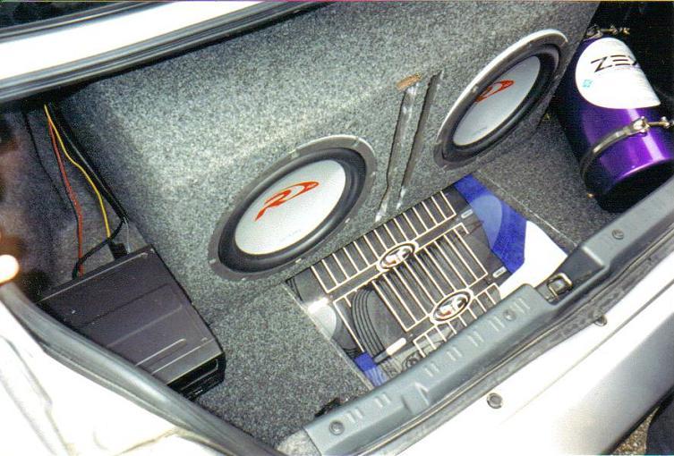 old trunk set up
