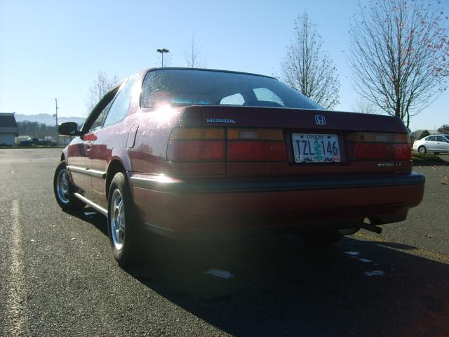 91 Accord Rear Driv Side   Pic
