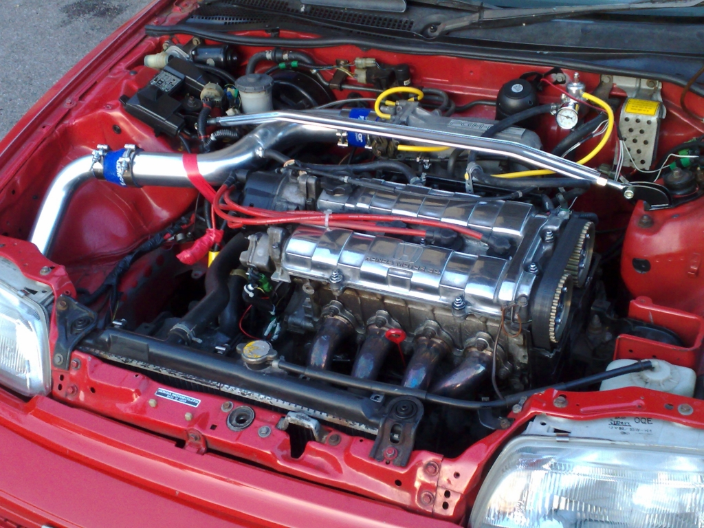 1988 91 Honda Civic Engine
