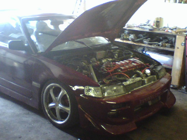 Lusk Racing     Crx Turbo Ls
