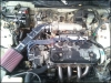Engine Body, New K&n Filter, Aftermarket Intake by JerseyB420