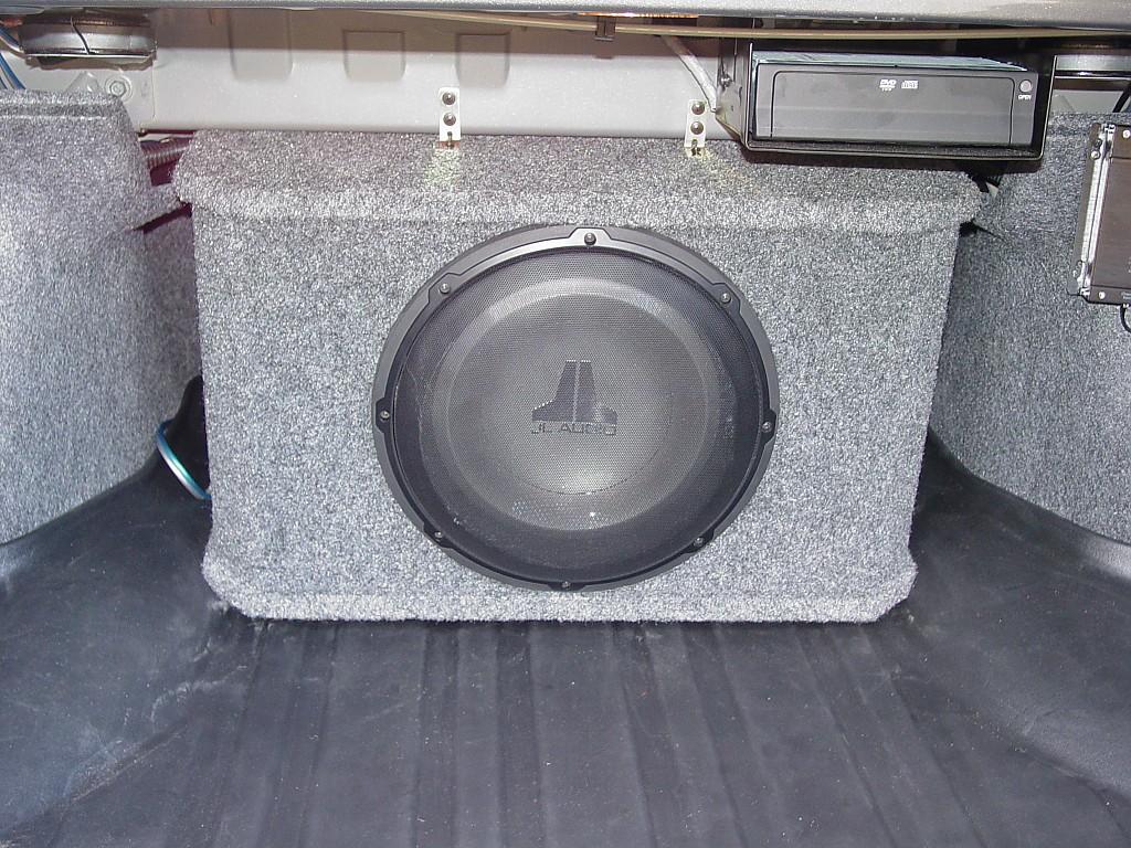JL Audio-Sub Woofer & Enclosure