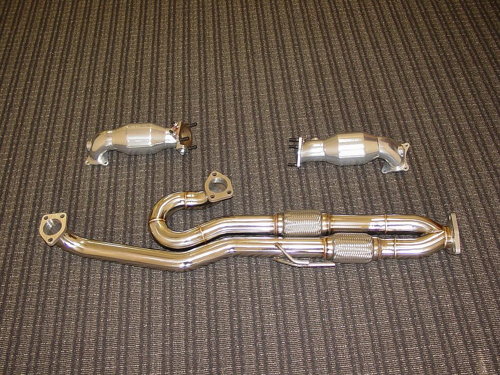 RV6 Hi-Flow Pre-Cats & J-Pipe