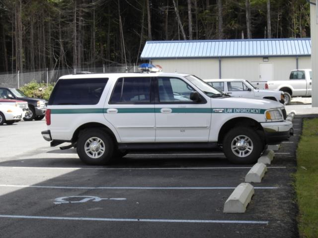this is what the cops drive in Sitka, AK