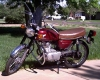 1971 Honda Cb100 by highplainsthumper