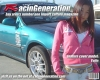 RacinGeneration promotional vehicle w/ model by mikeyboost