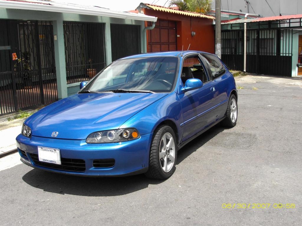 My Blue  Civic