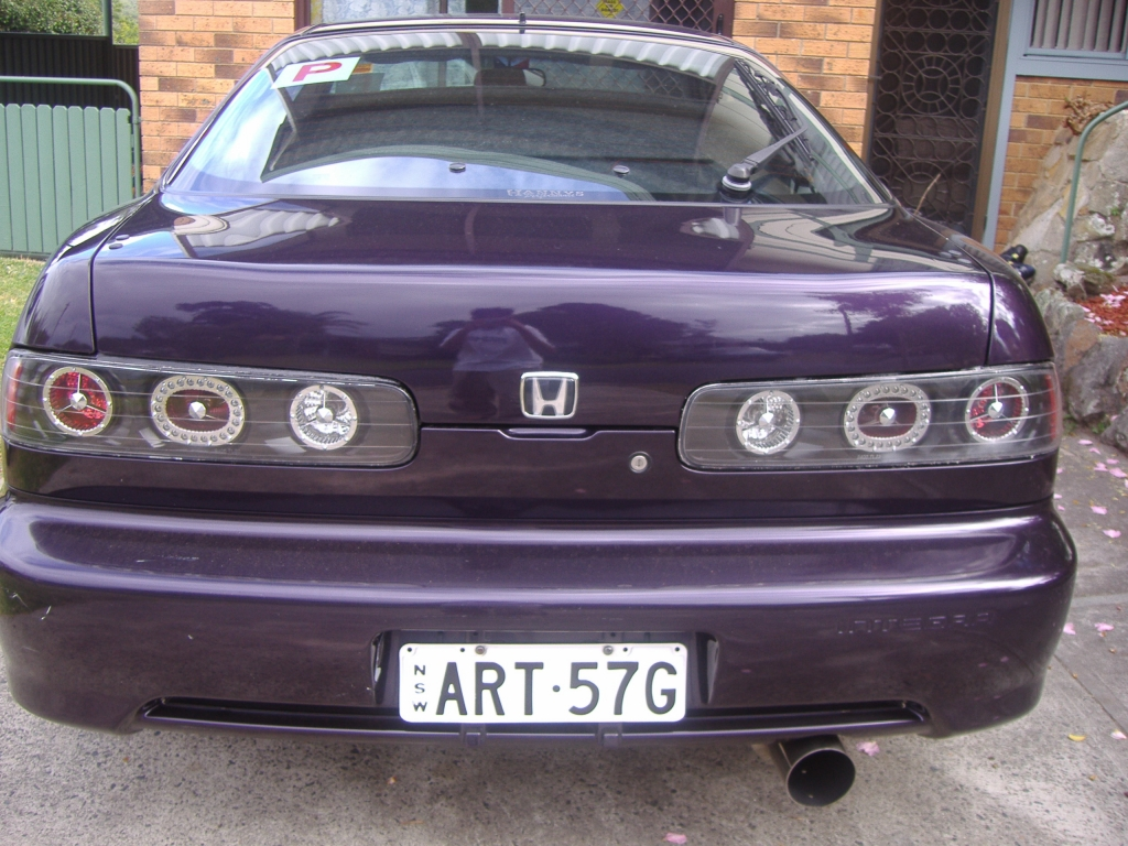 silver legend's tailights on a vtir dc2