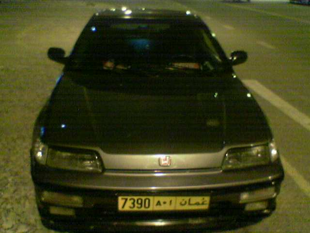 My CRX before, while, after