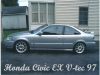 HONDA CIVIC EX V TEC 97