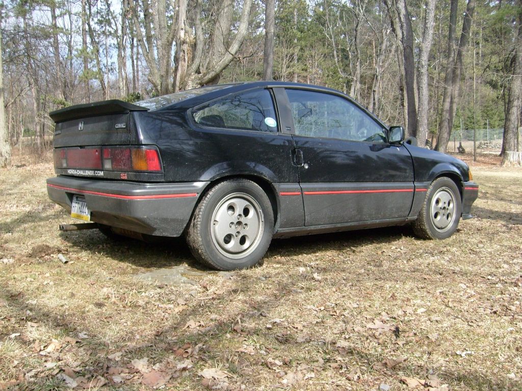1986 Crx Si W/1985 Conversion