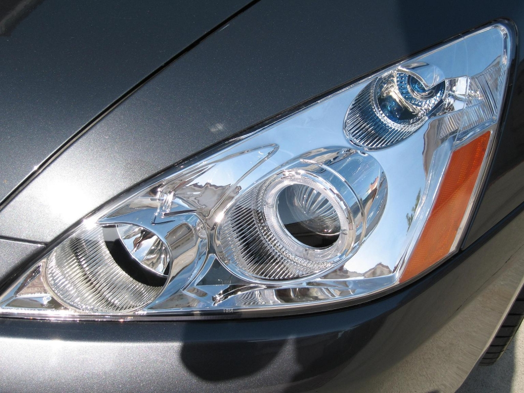 My new Projector headlights installed 6/7/07