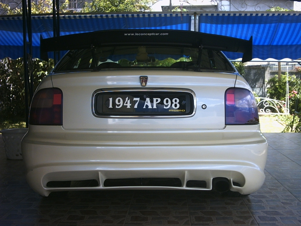 B16a In Rover 400 3