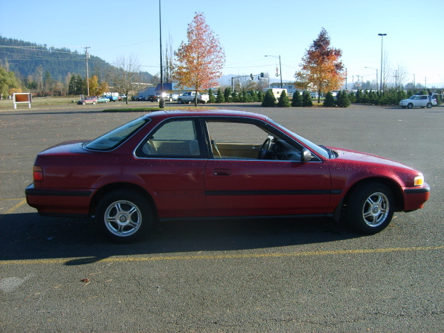 91 Accord  Pass Side   Pic