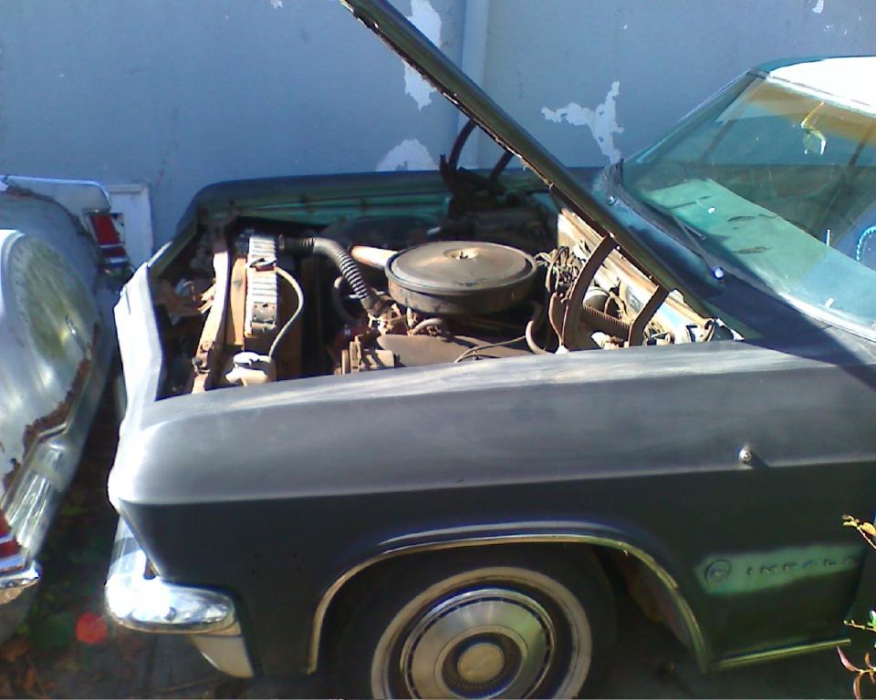 My Impala 65 396block Size