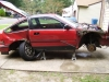 My Wrecked 91 Crx Si