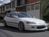 colombian civic by STR8_UP