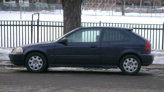 Honda Civic Dx Hatchback 1998