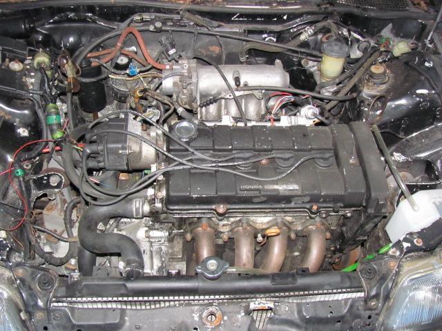 My 91 Crx Project Car