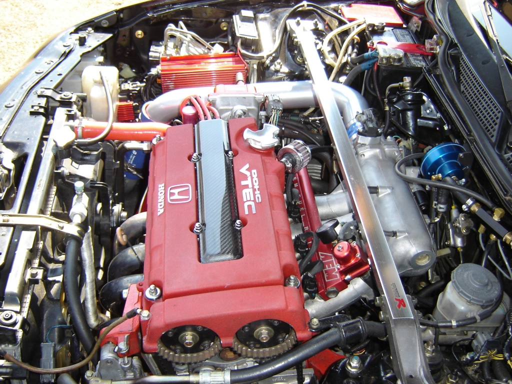 2000 Procharged ITR Engine Bay