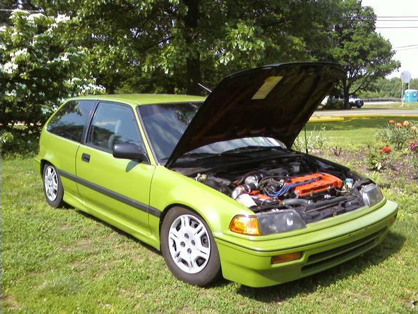 89 Civic Hatchback Ls Integra Swap