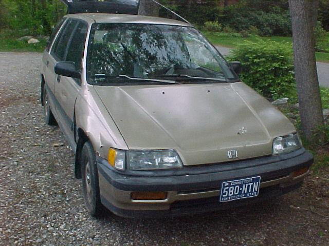 88 Honda Civic Wagon 4WD